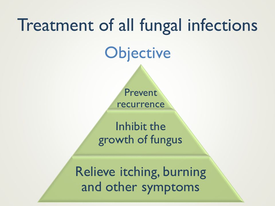 Treatment of all fungal infections
