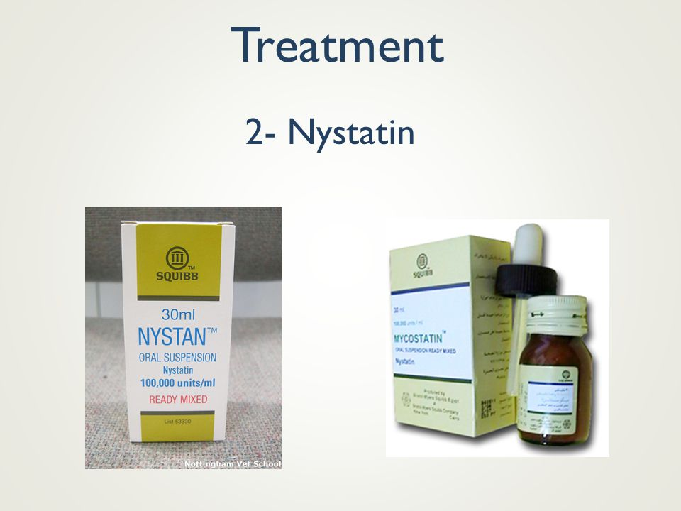 Treatment 2- Nystatin