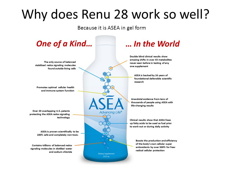 Why does Renu 28 work so well