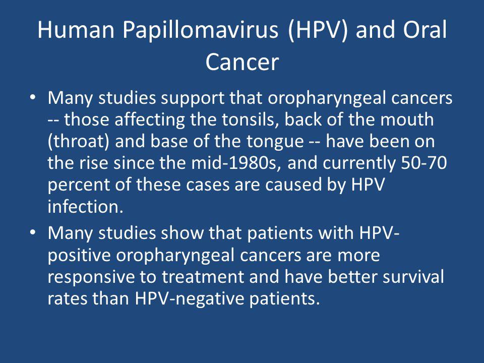 Human Papillomavirus (HPV) and Oral Cancer