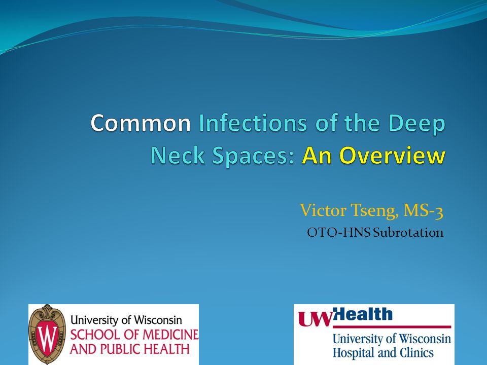 Common Infections of the Deep Neck Spaces: An Overview