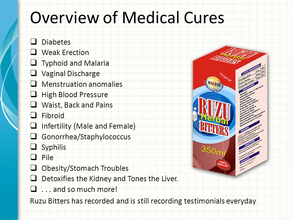 Overview of Medical Cures