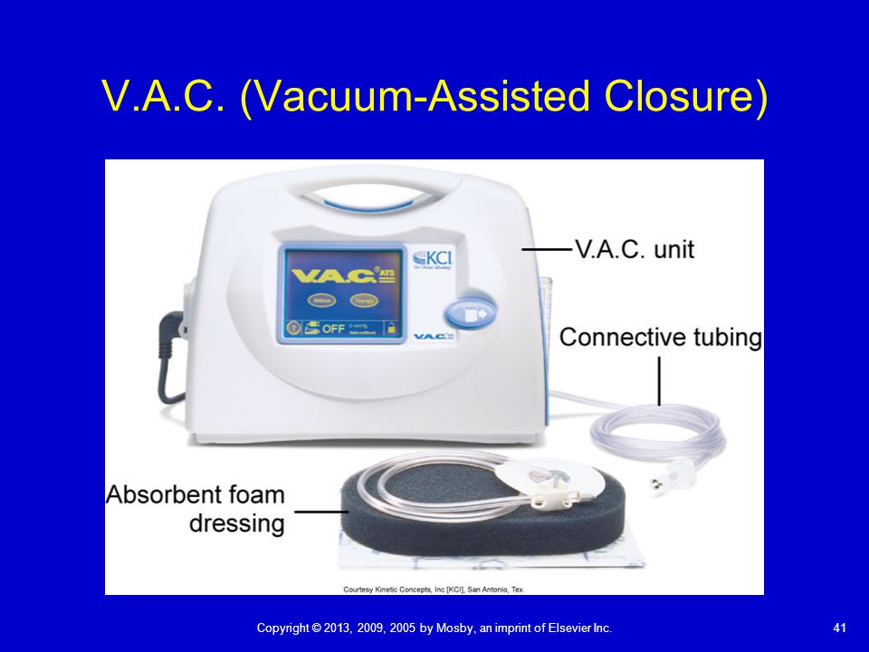 V.A.C. (Vacuum-Assisted Closure)
