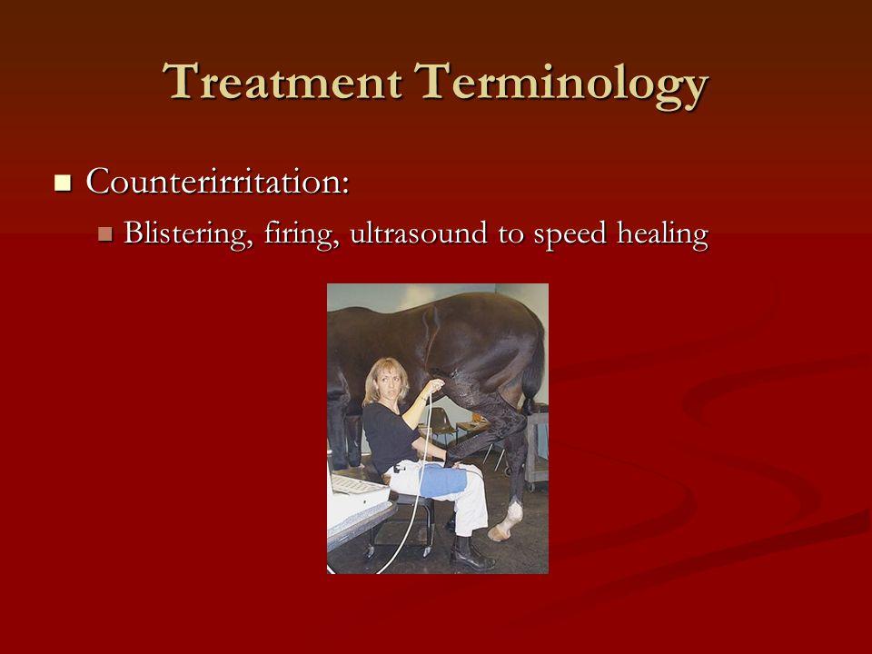 Treatment Terminology