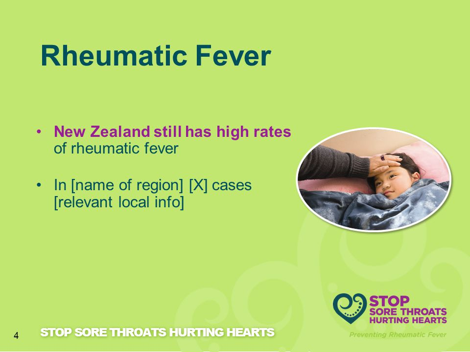 Rheumatic Fever New Zealand still has high rates of rheumatic fever
