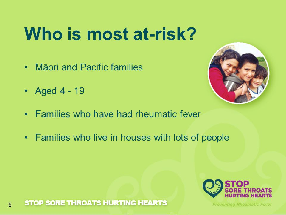 Who is most at-risk Māori and Pacific families Aged 4 - 19