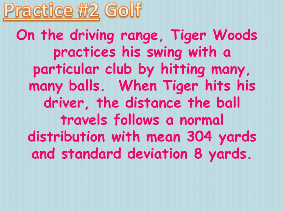 Practice #2 Golf