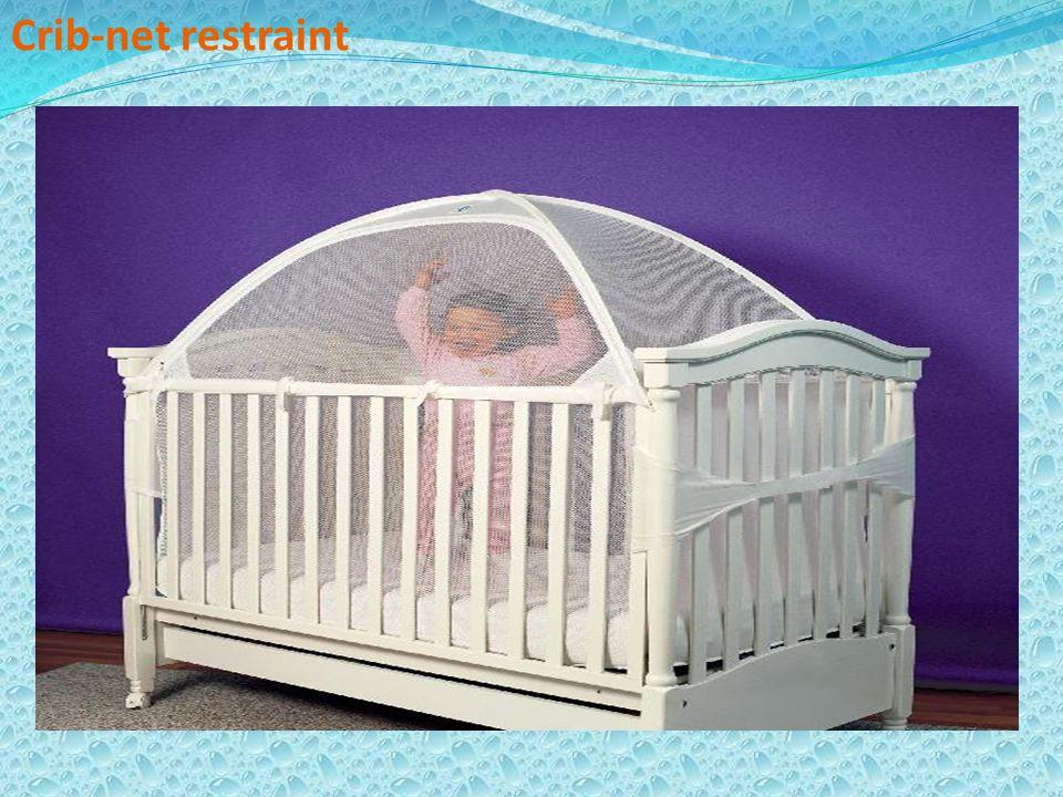 Crib-net restraint