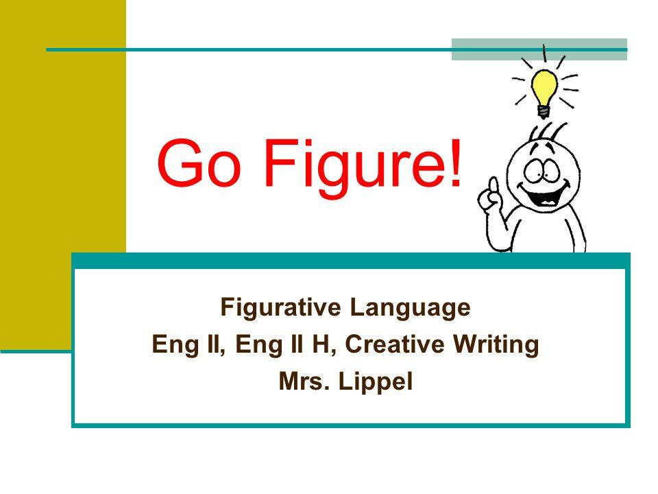 Figurative Language Eng II, Eng II H, Creative Writing Mrs. Lippel