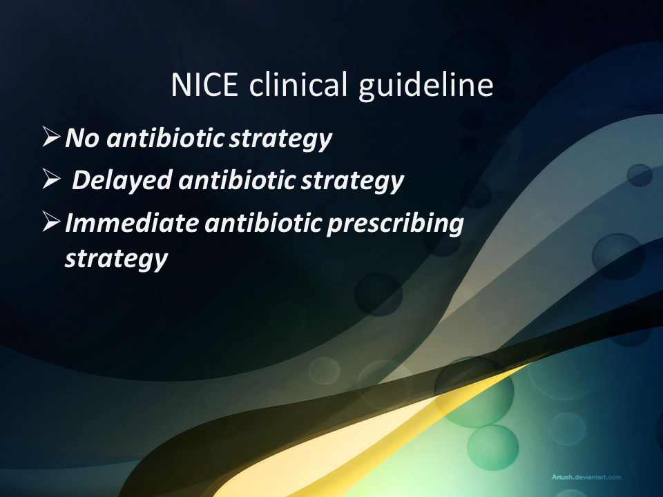 NICE clinical guideline