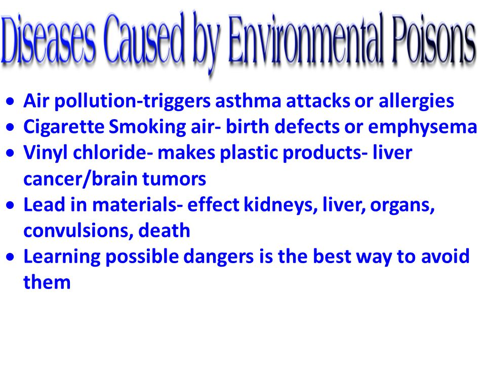 Air pollution-triggers asthma attacks or allergies