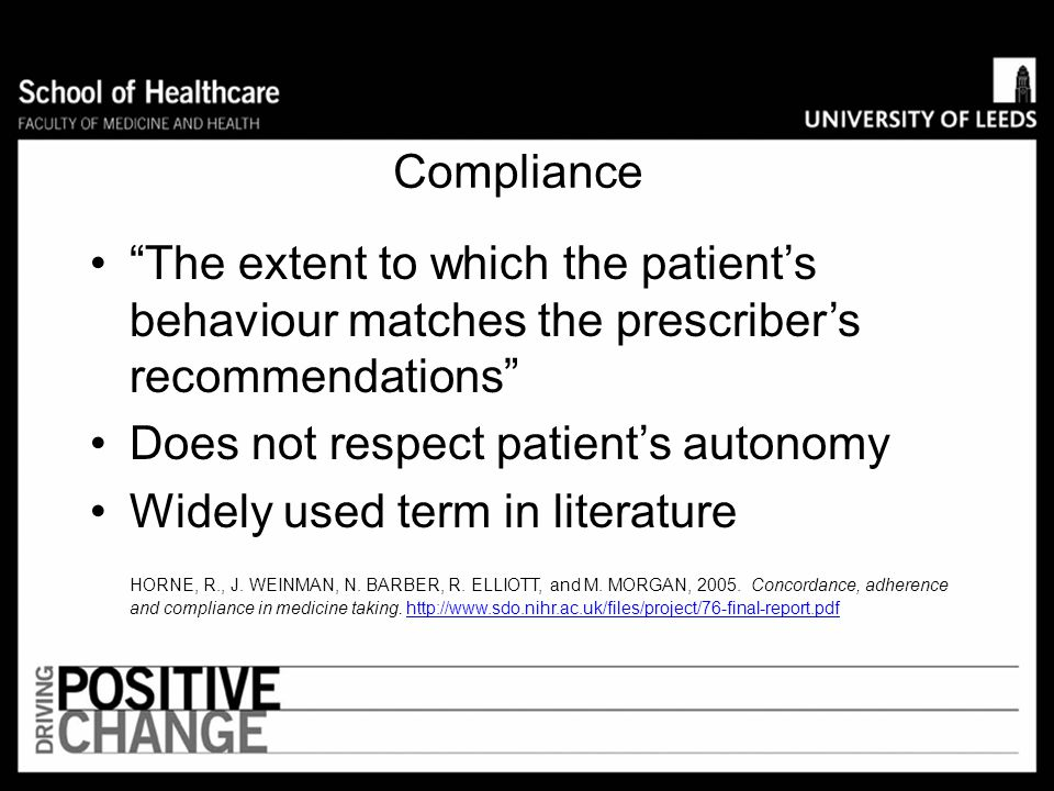 Does not respect patient's autonomy Widely used term in literature