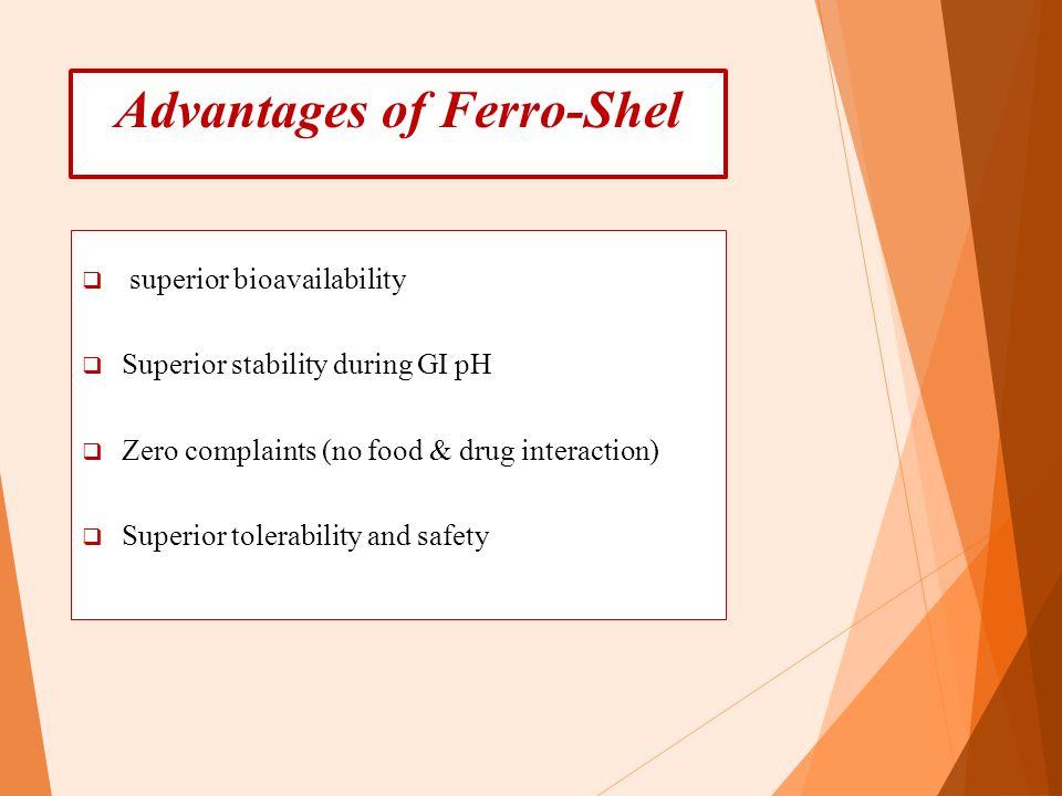 Advantages of Ferro-Shel