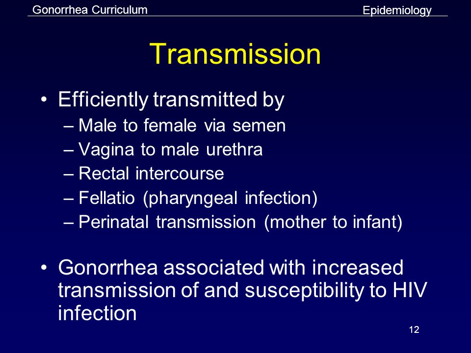 Transmission Efficiently transmitted by