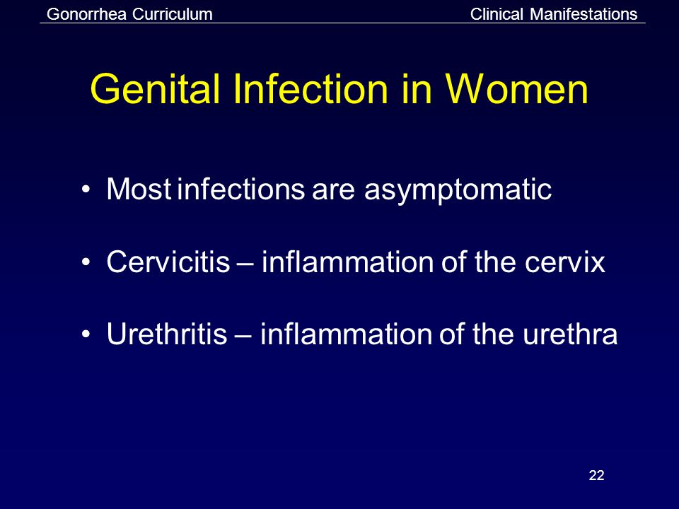 Genital Infection in Women