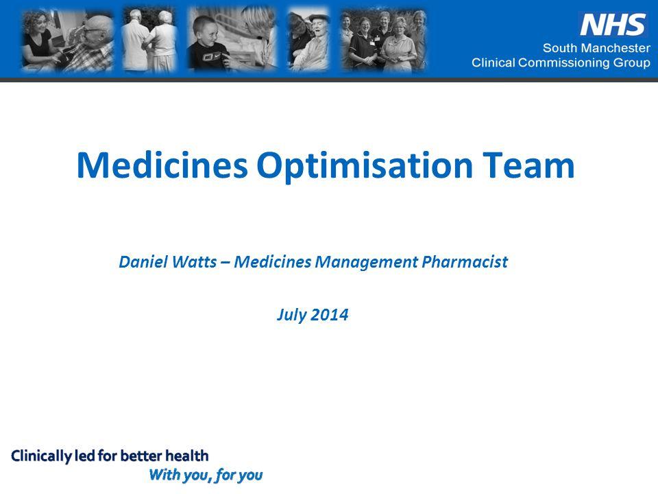 Medicines Optimisation Team
