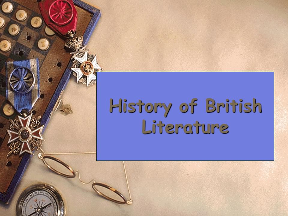 History of British Literature
