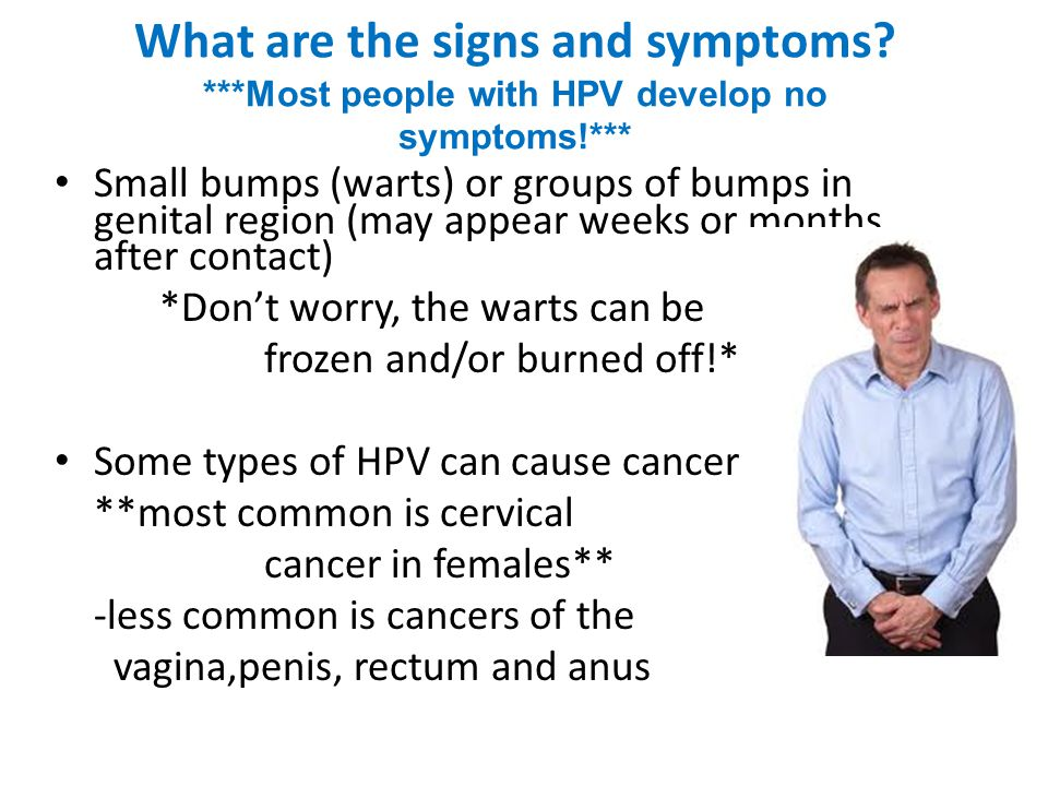 What are the signs and symptoms