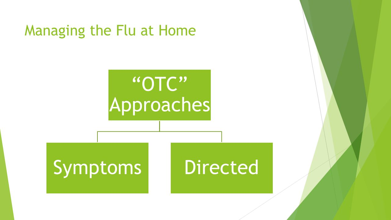 Managing the Flu at Home