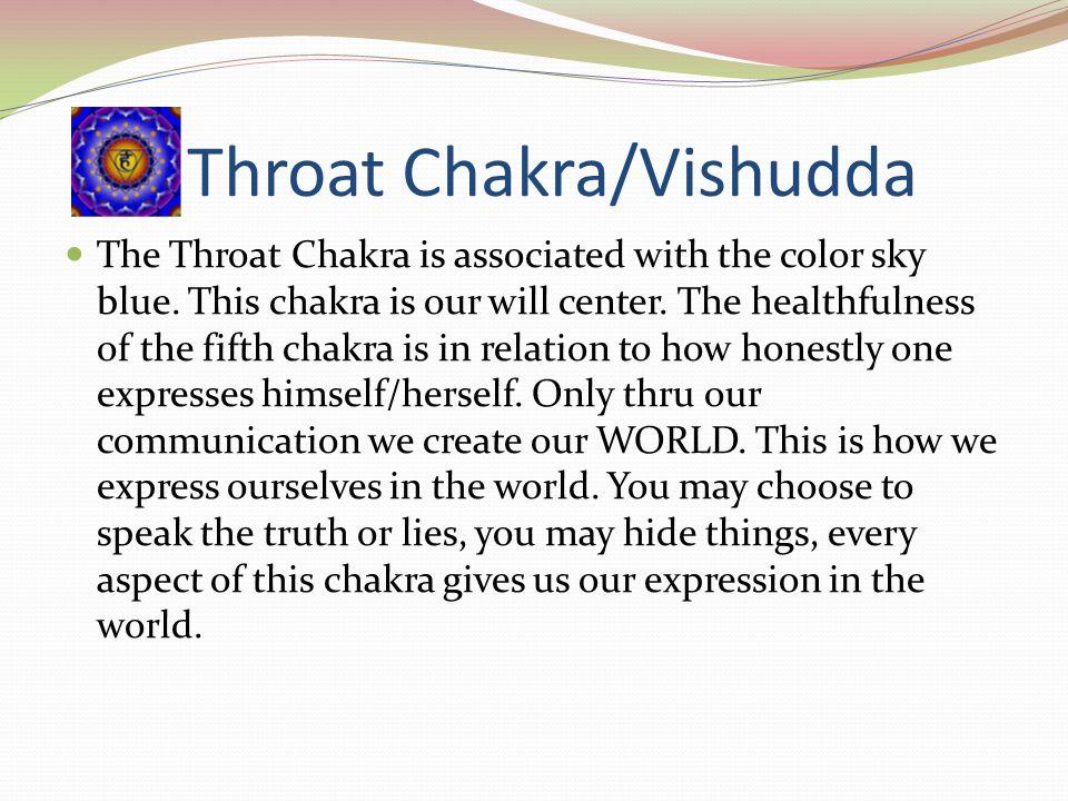Throat Chakra/Vishudda