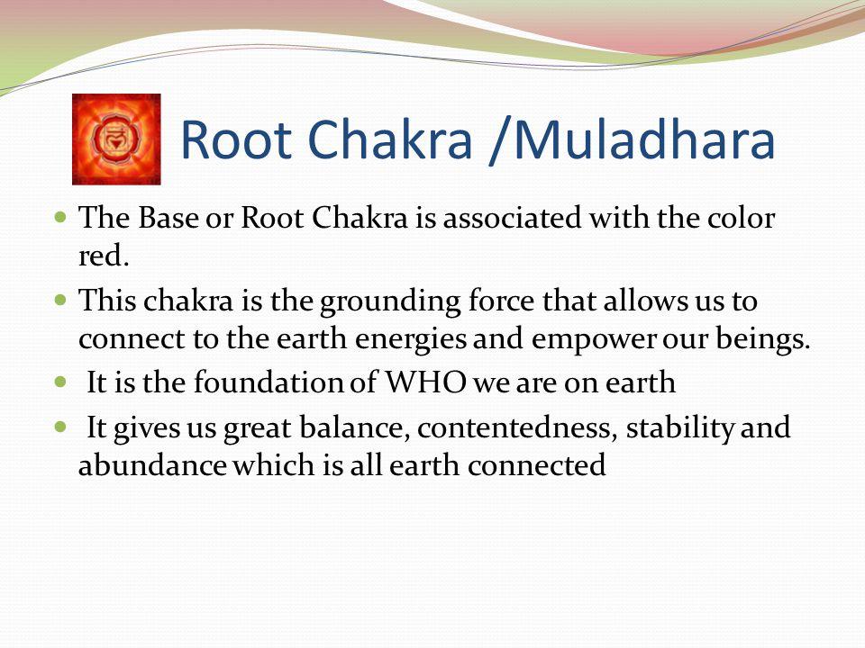 Root Chakra /Muladhara