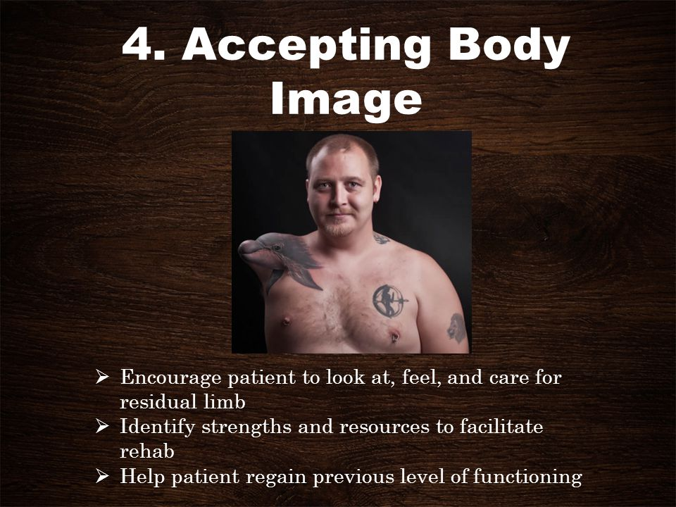 4. Accepting Body Image