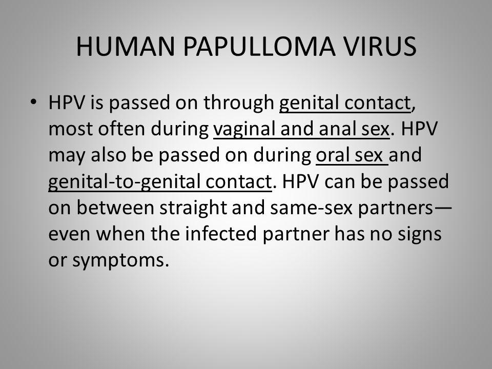 HUMAN PAPULLOMA VIRUS