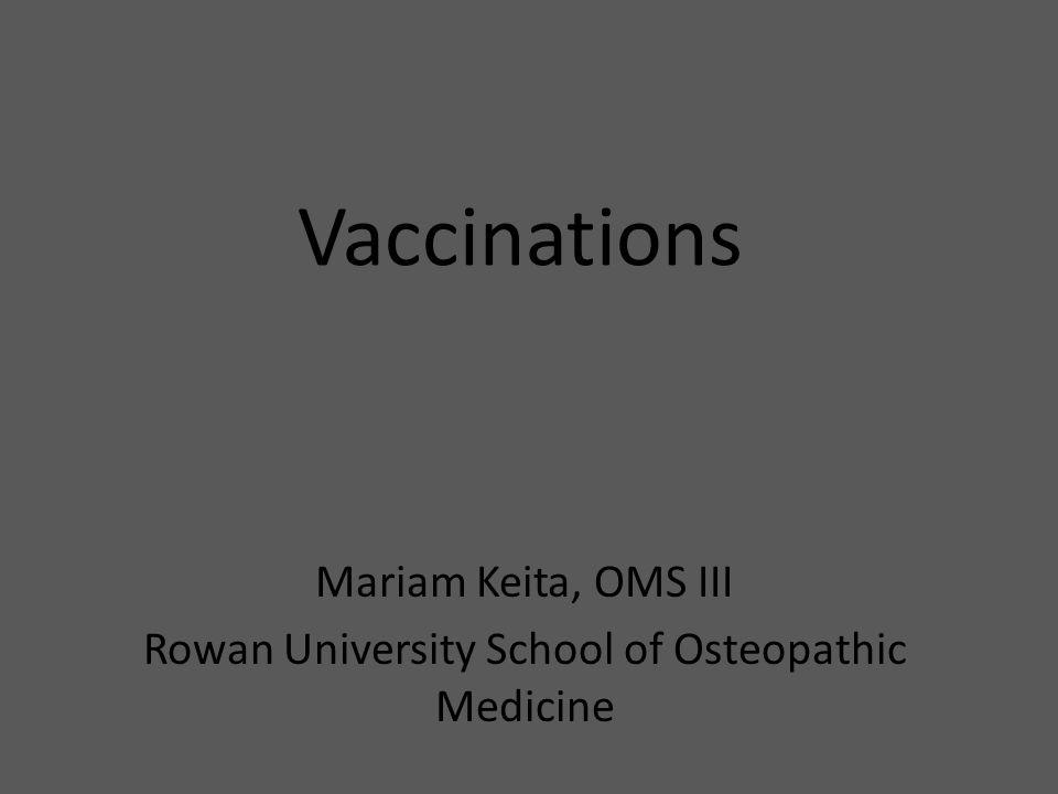 Mariam Keita, OMS III Rowan University School of Osteopathic Medicine