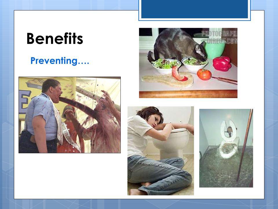 Benefits Preventing….