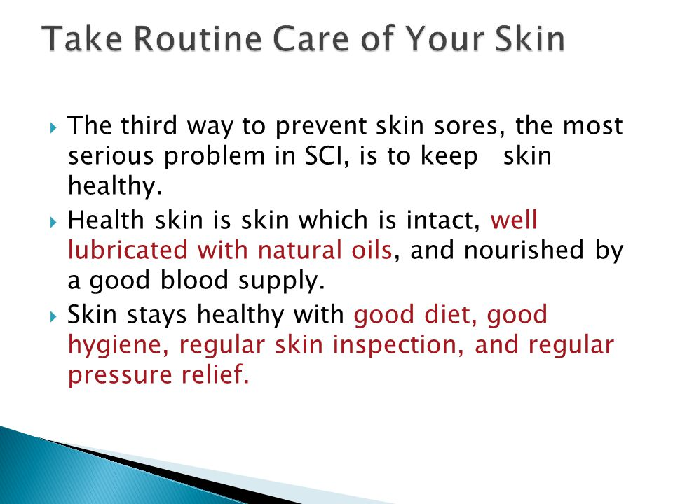 Take Routine Care of Your Skin