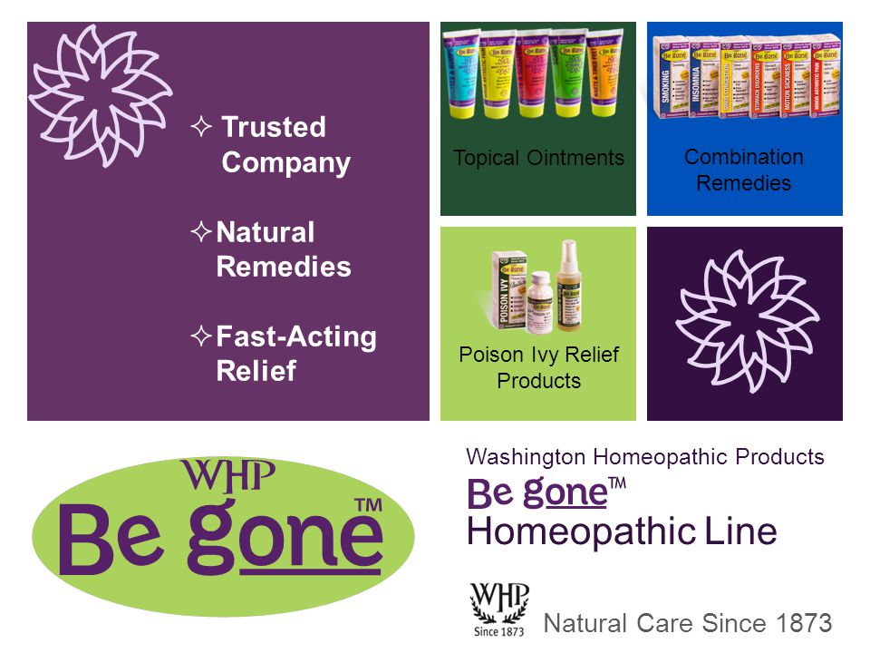 Washington Homeopathic Products ™ Homeopathic Line