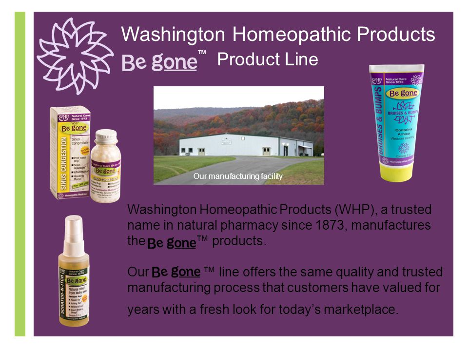 Washington Homeopathic Products