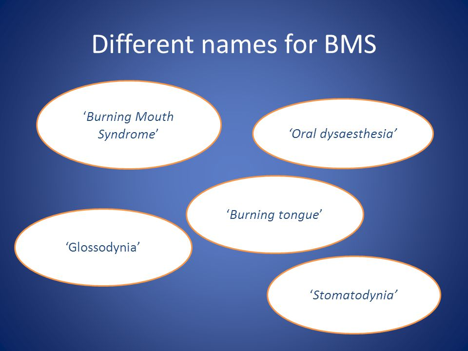 Different names for BMS