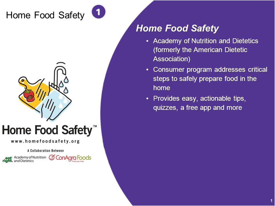 Home Food Safety Home Food Safety