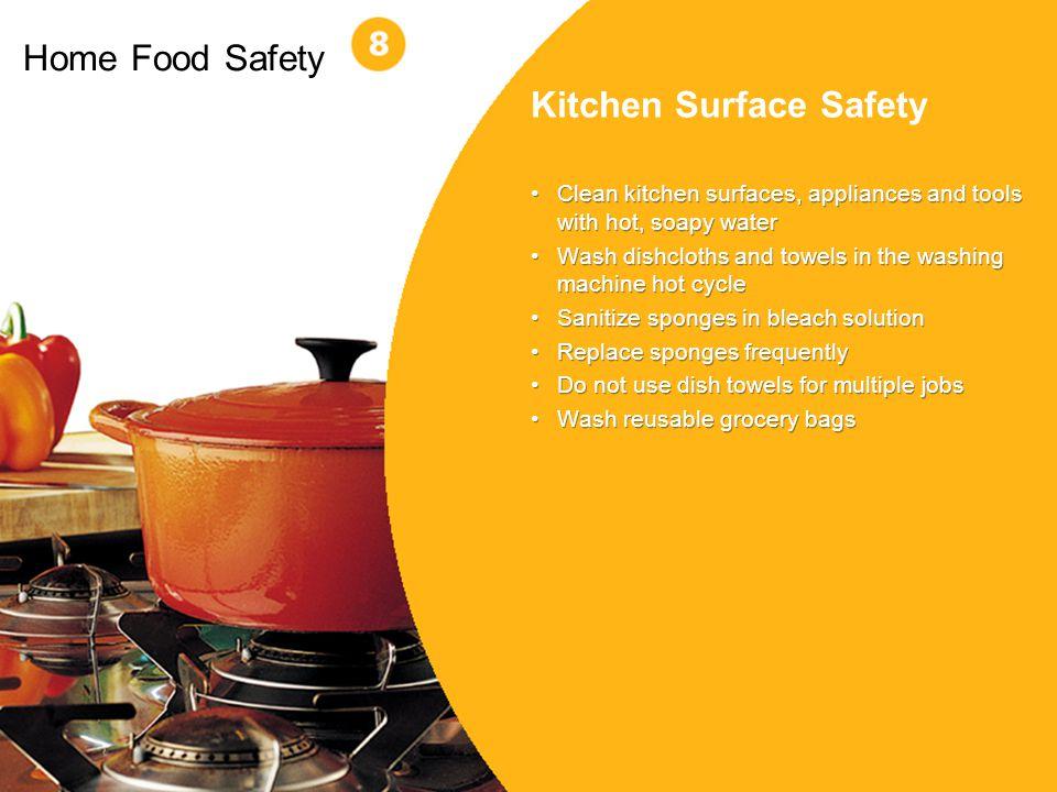 Kitchen Surface Safety