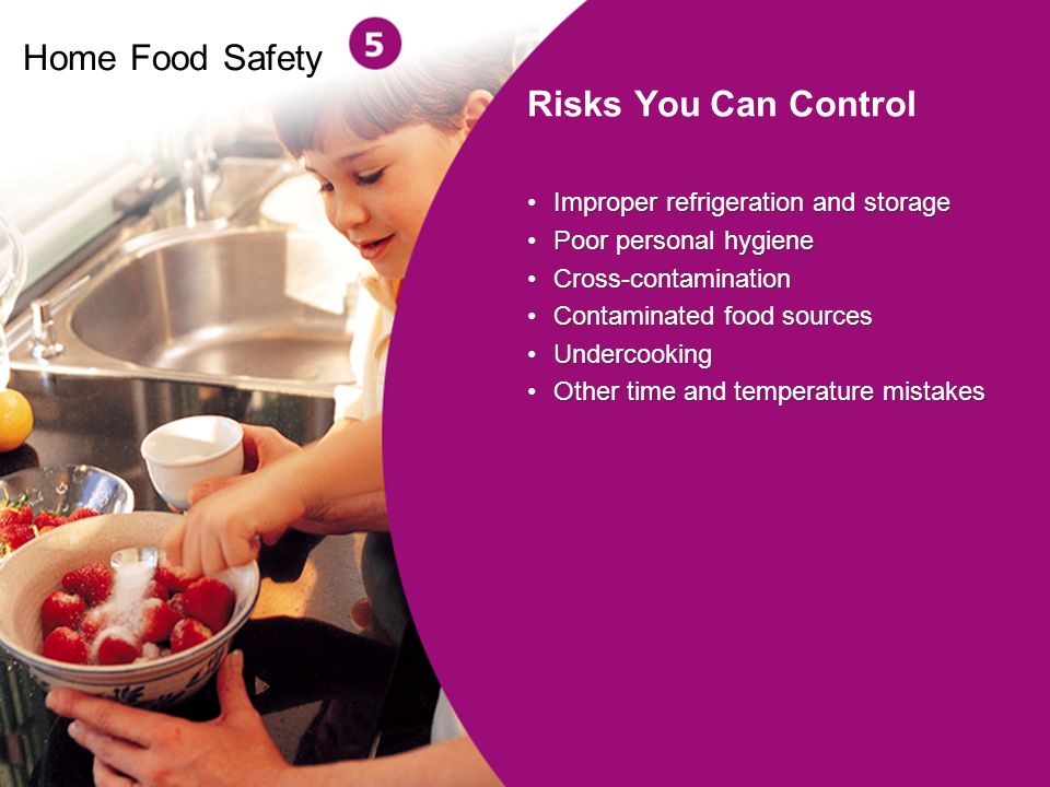 Home Food Safety Risks You Can Control