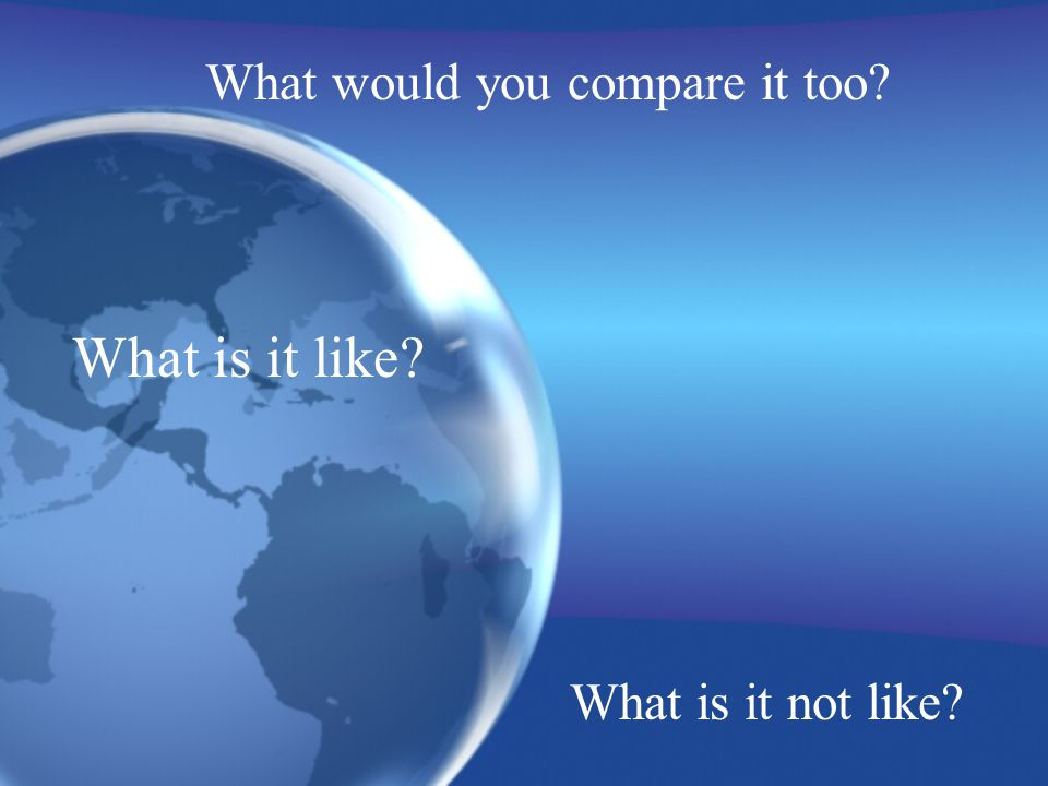 What would you compare it too