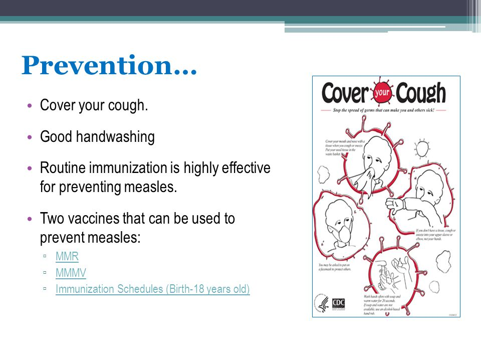 Prevention… Cover your cough. Good handwashing