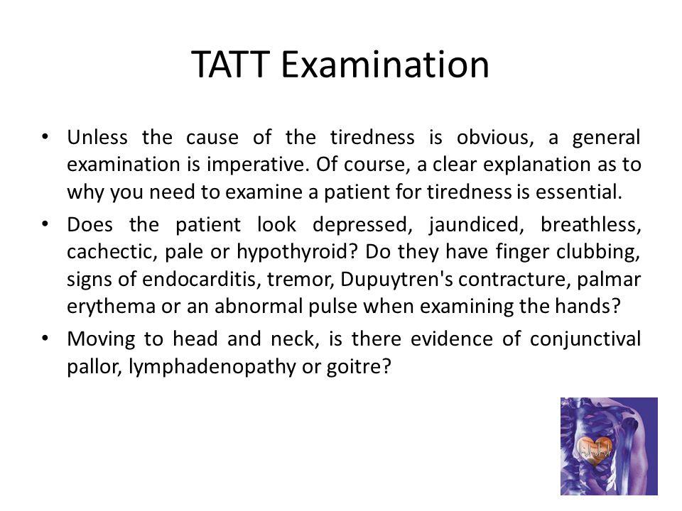 TATT Examination