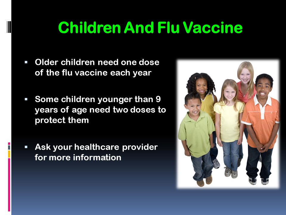 Children And Flu Vaccine