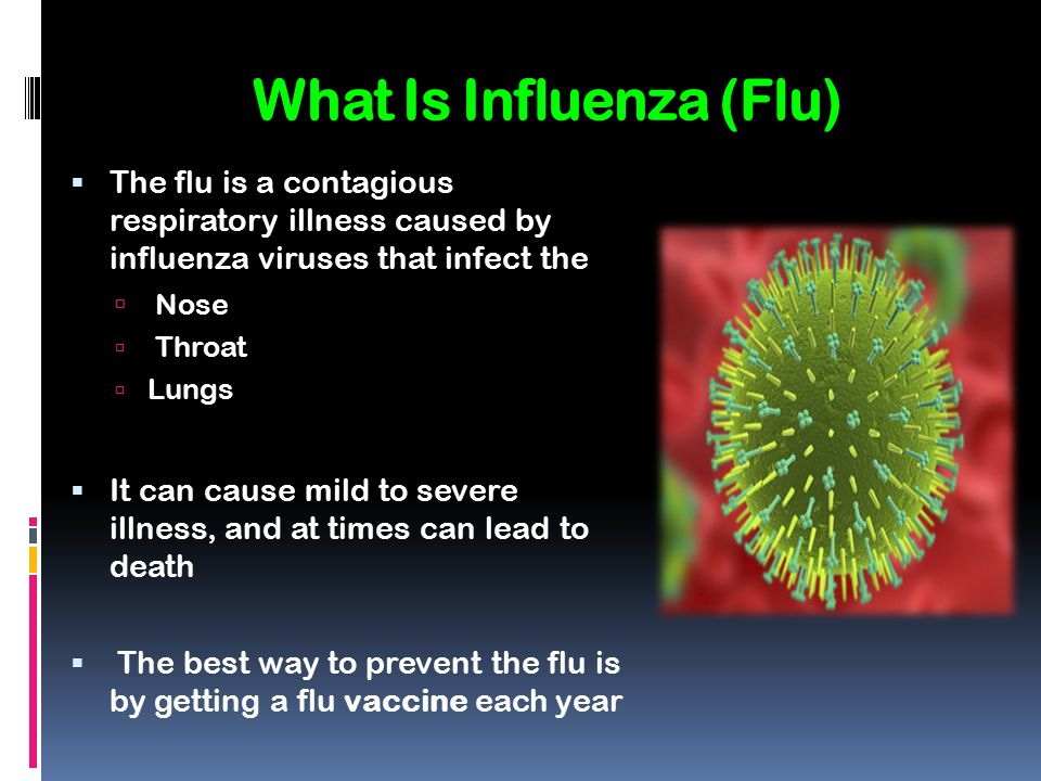 What Is Influenza (Flu)