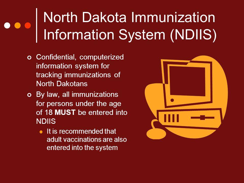 North Dakota Immunization Information System (NDIIS)