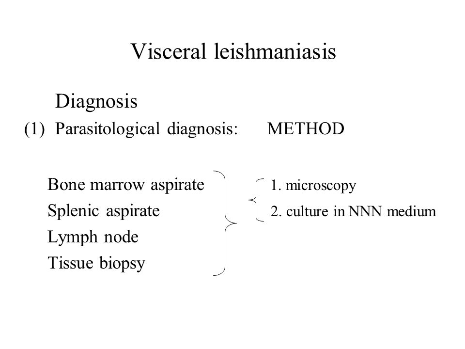 Visceral leishmaniasis