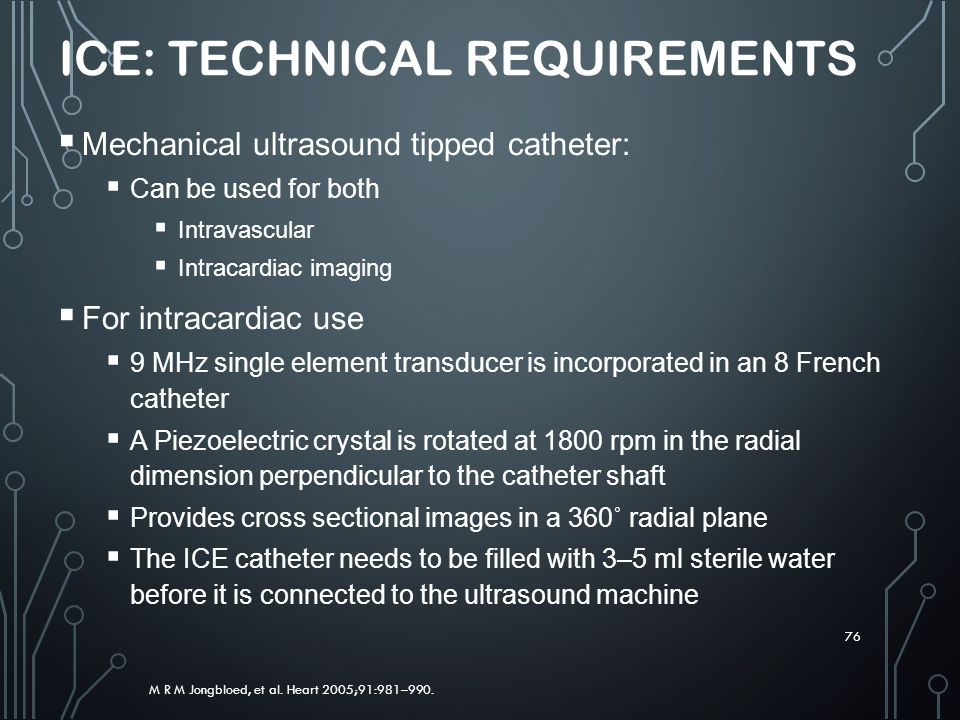 ICE: Technical Requirements