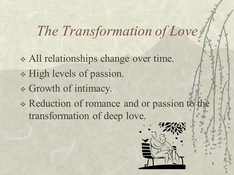 The Transformation of Love