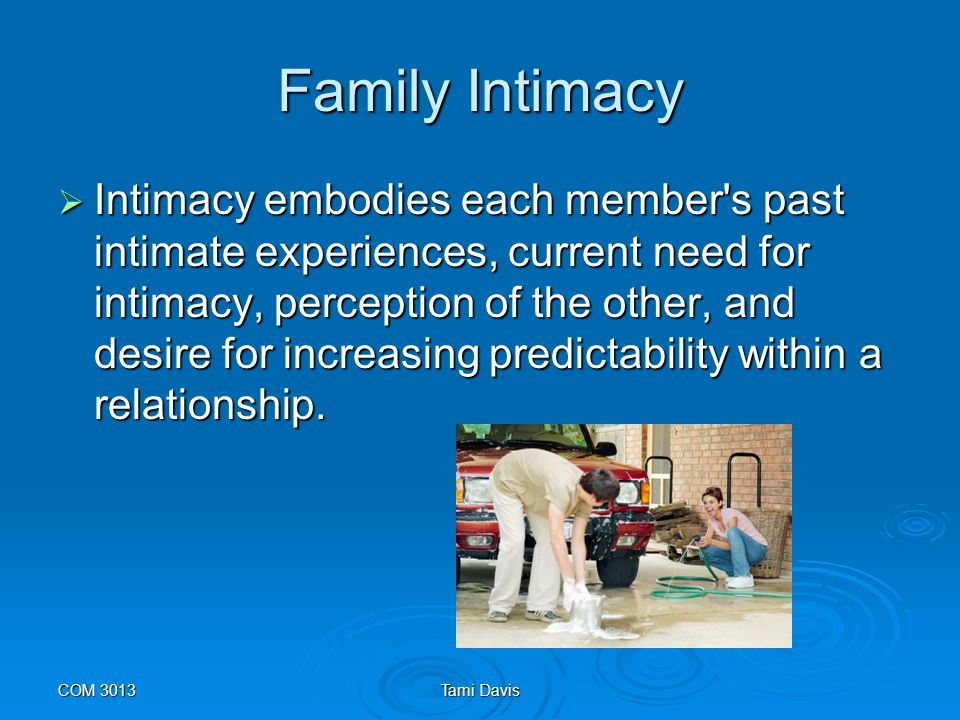 Family Intimacy