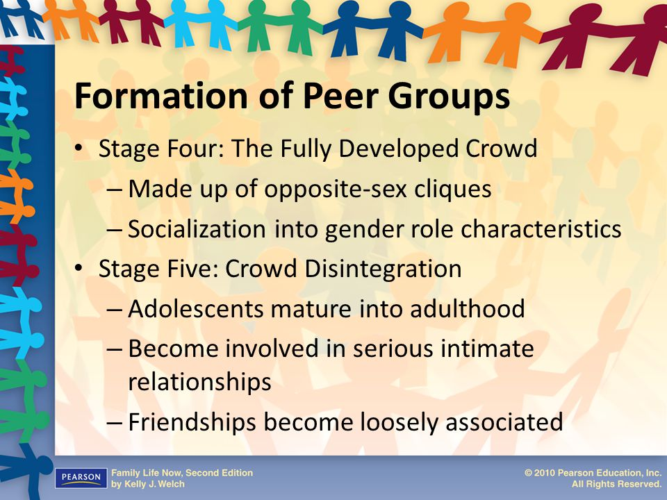 Formation of Peer Groups