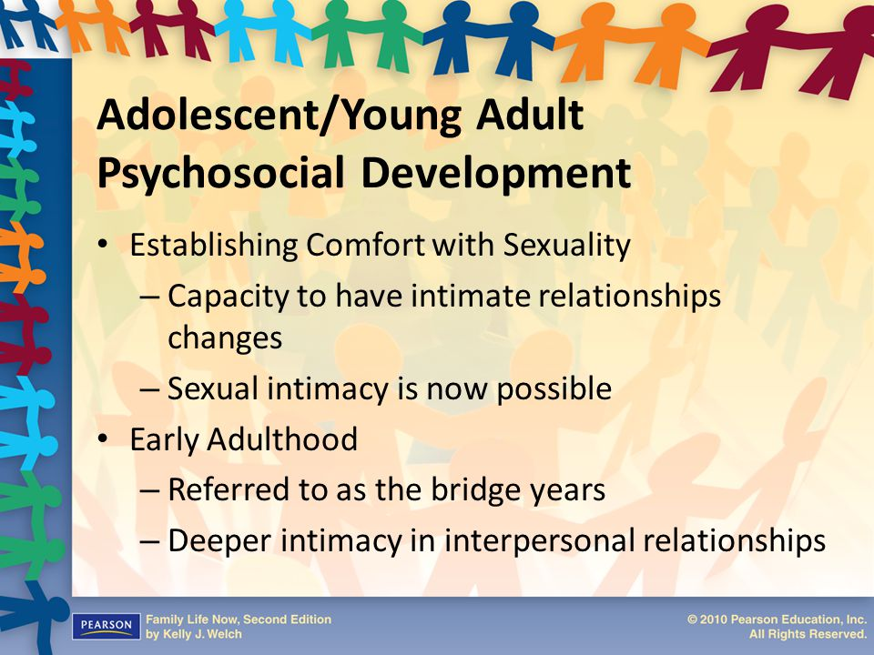 Adolescent/Young Adult Psychosocial Development