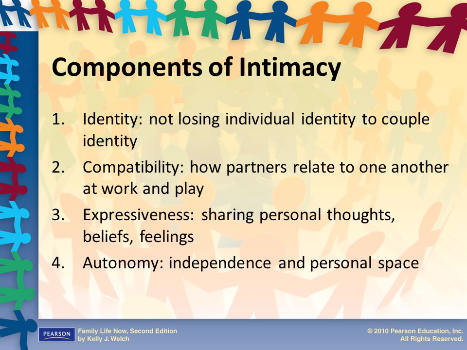 Components of Intimacy