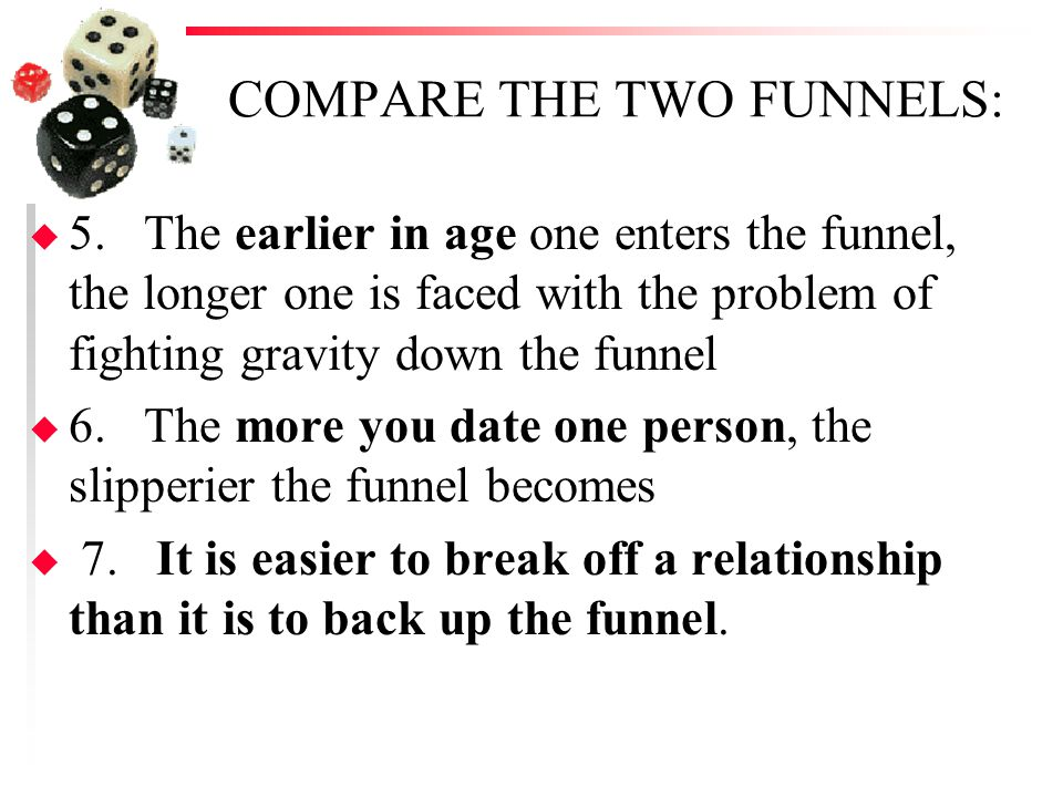 COMPARE THE TWO FUNNELS: